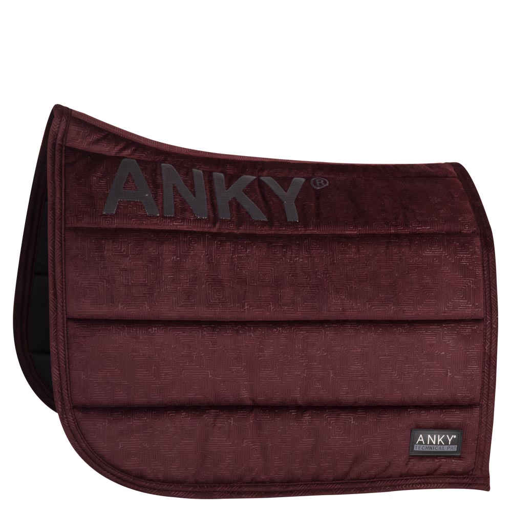 ANKY® pad Velvet Limited Edition dressuur XB17007