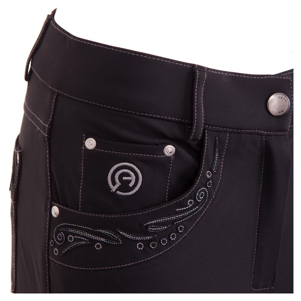 Punched Leather Breeches FLS