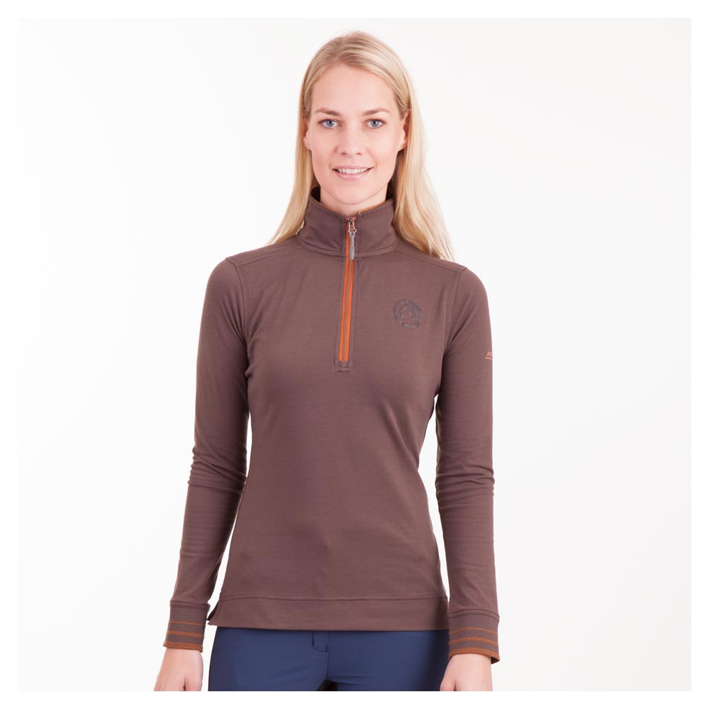 ANKY® LONG SLEEVE POLO SHIRT DAMES ATC172201